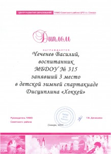 Диплом-Чеченев